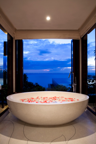 Health Spa「villa bathroom phuket bathtub」:スマホ壁紙(0)