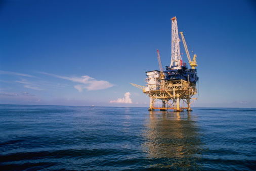 Oil Industry「Offshore drilling rig, Gulf of Mexico」:スマホ壁紙(0)