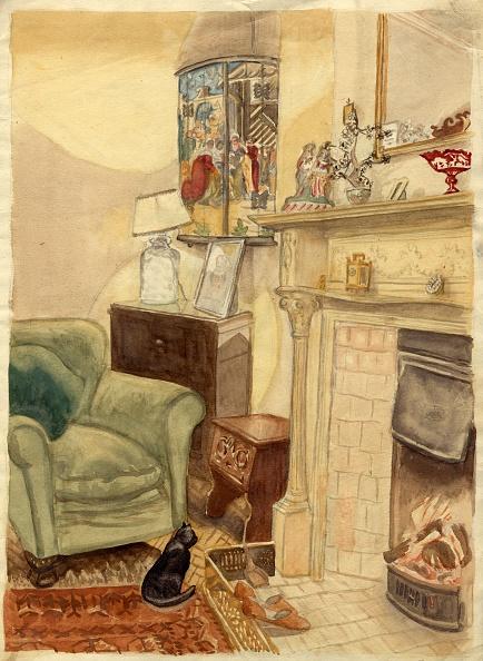 Comfortable「Fireside Scene」:写真・画像(3)[壁紙.com]