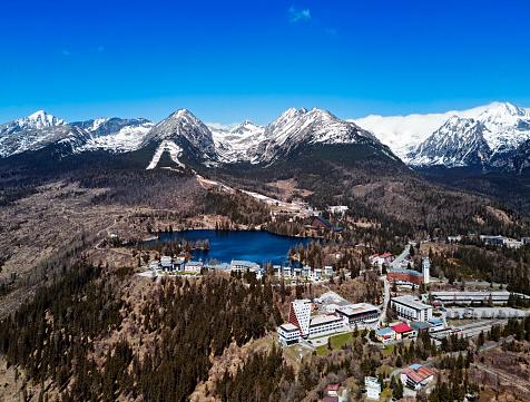 Tatra Mountains「View of Strbske Pleso resort in High Tatras mountains, Slovakia」:スマホ壁紙(15)