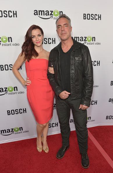 "Leather Jacket「Red Carpet Premiere Screening For Amazon's First Original Drama Series, ""Bosch""」:写真・画像(4)[壁紙.com]"