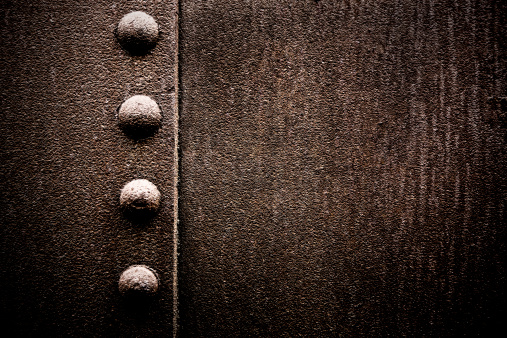 Rusty「Grungy Metal XXXL Background with Rivets」:スマホ壁紙(6)