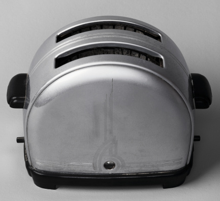 Toasted Food「Rounded Metal Toaster」:スマホ壁紙(1)