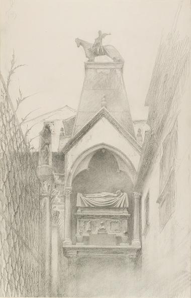 Pencil「Study Of The Tomb Of Can Grande Della Scala At Verona」:写真・画像(15)[壁紙.com]