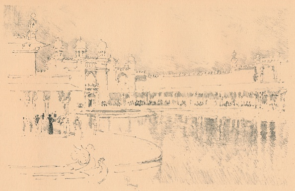 Riverbank「Auto-Lithograph by J. Pennell, c1877-1898, (1898). Artist: Joseph Pennell」:写真・画像(15)[壁紙.com]