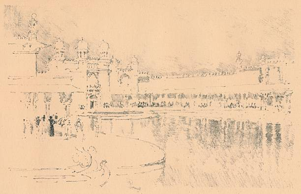 Auto-Lithograph by J. Pennell, c1877-1898, (1898). Artist: Joseph Pennell:ニュース(壁紙.com)