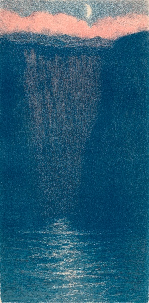 Shape「'Auto-Lithograph by F. F. Foottet', c1900. Artist: Frederick Francis Foottet.」:写真・画像(3)[壁紙.com]