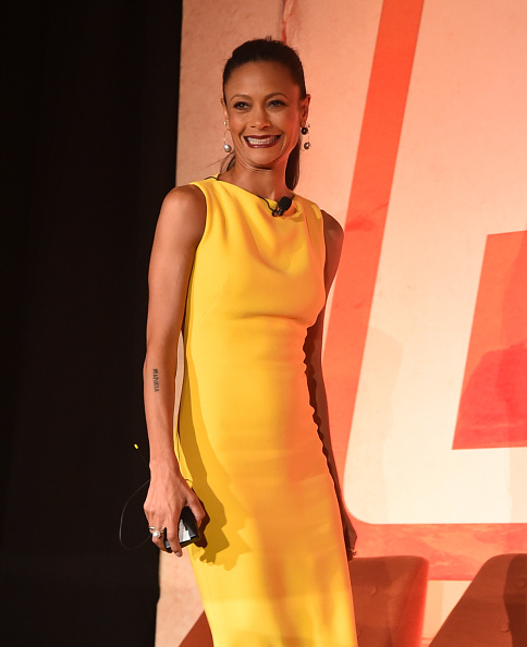 """Yellow Dress「STARS Stars And Filmmakers Hold L.A. Press Conference for """"SOLO: A Star Wars Story""""」:写真・画像(3)[壁紙.com]"""