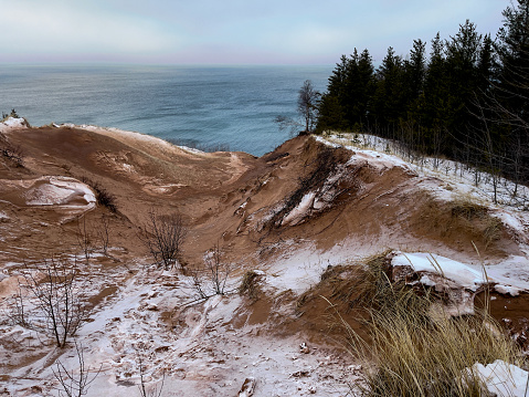 Sand Trap「A view of Grand Sable Dunes and Lake Superior」:スマホ壁紙(10)