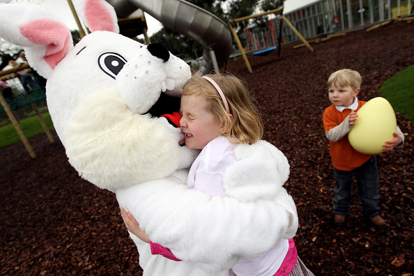 Easter Bunny「Kew Launch Their New Treehouse Towers Play Area With An Easter Egg Hunt」:写真・画像(14)[壁紙.com]