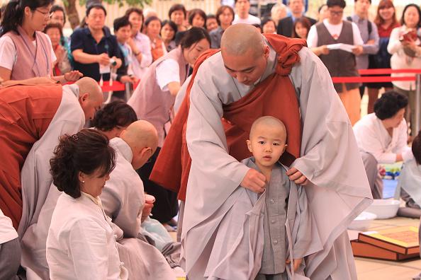 Buddha「Children Become Buddhist Monks In Seoul」:写真・画像(19)[壁紙.com]