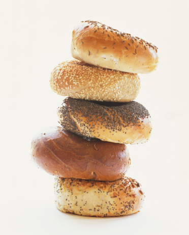 Rye Bread「Stack of assorted bagels」:スマホ壁紙(11)