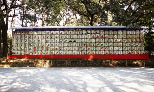 Sake「Sake Barrels, Harakuju, Tokyo, Japan」:スマホ壁紙(8)