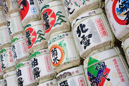 Sake「Sake Barrels Near Entrance of Meiji Shrine」:スマホ壁紙(17)