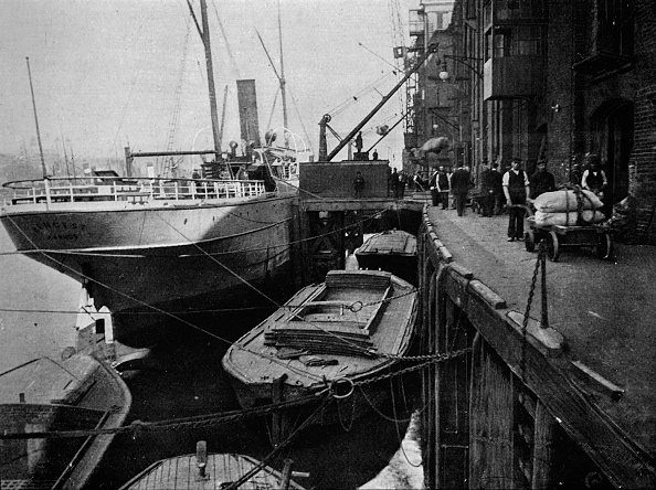 Commercial Dock「Cotton's Wharf, Tooley Street, London, c1900 (1901)」:写真・画像(4)[壁紙.com]