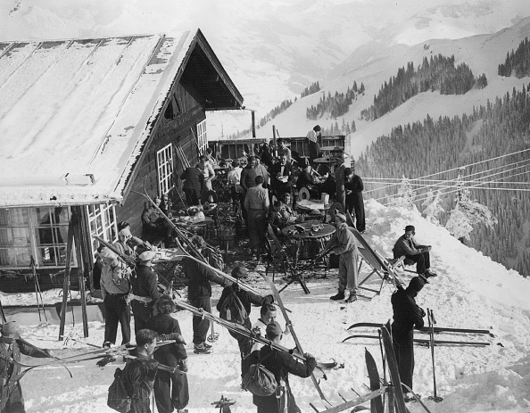 Mountain「Tyrolean skiers」:写真・画像(5)[壁紙.com]