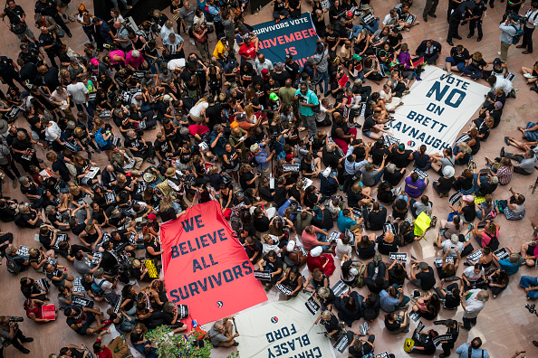 Protest「Activists Rally Against Brett Kavanaugh Nomination In Washington DC」:写真・画像(13)[壁紙.com]