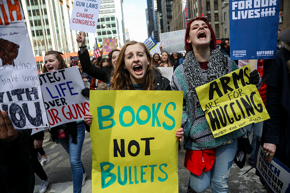 Gun Control「Thousands Join March For Our Lives Events Across US For School Safety From Guns」:写真・画像(4)[壁紙.com]