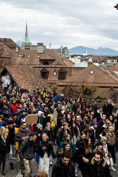 Vaud Canton「Greta Thunberg Joins Climate Protest Ahead Of Davos Summit」:写真・画像(18)[壁紙.com]