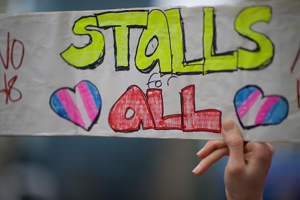 Bathroom「Protestors Rally Against Transgender Bathroom Rights Repeal」:写真・画像(19)[壁紙.com]