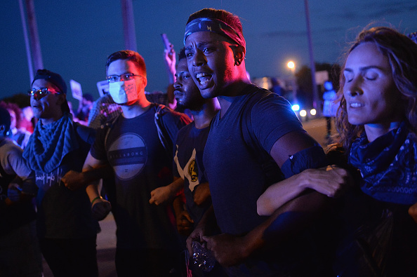 Missouri「Protests Erupt Over Not Guilty Verdict In Police Officer's Jason Stockley Trial Over Shooting Death Of Anthony Lamar Smith」:写真・画像(9)[壁紙.com]