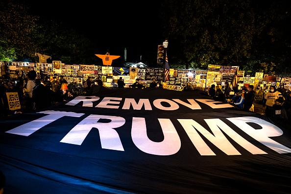 米国大統領選挙「People React In Streets Of Washington, DC On Election Day」:写真・画像(16)[壁紙.com]
