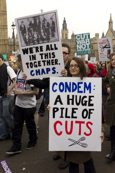 Tom Stoddart Archive「TUC March Against Cuts」:写真・画像(6)[壁紙.com]