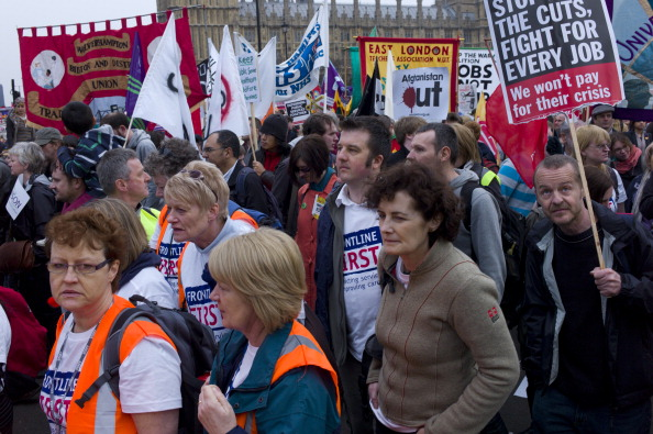 Tom Stoddart Archive「TUC March Against Cuts」:写真・画像(19)[壁紙.com]