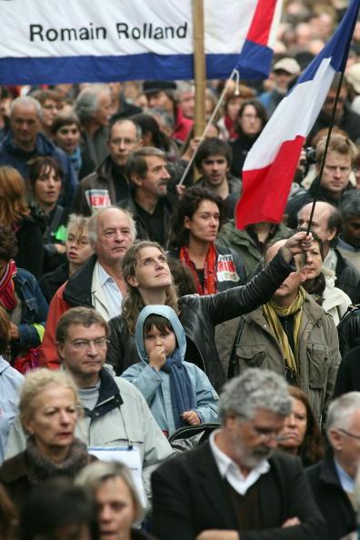 Corporate Business「National Union-Led Demonstration Against Retirement Reform」:写真・画像(14)[壁紙.com]
