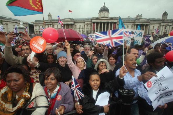 Prejudice「Protest Takes Place Over Immigration Rights」:写真・画像(5)[壁紙.com]