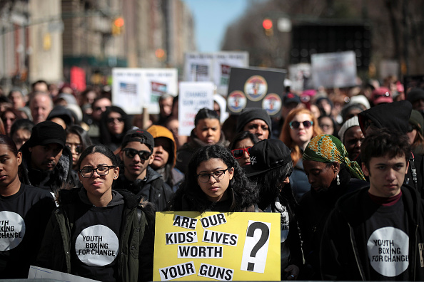 Columbus Circle「Thousands Join March For Our Lives Events Across US For School Safety From Guns」:写真・画像(11)[壁紙.com]
