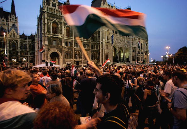 Hungary「Political Scandal Sparks Riots In Budapest」:写真・画像(19)[壁紙.com]