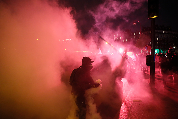 France「French Public Sector Workers Begin New Round Of Pension Strikes」:写真・画像(14)[壁紙.com]