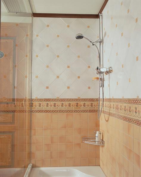 繊細「View of a bathroom with a shower area」:写真・画像(19)[壁紙.com]