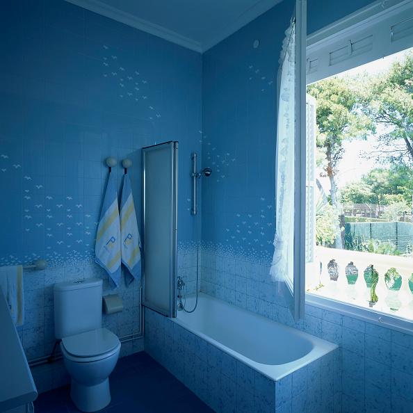 Tile「View of a bathtub in a neat bathroom」:写真・画像(15)[壁紙.com]