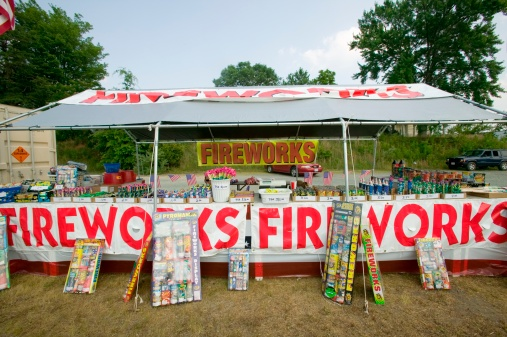 Fourth of July「Fireworks stand on route 29 in rural Virginia」:スマホ壁紙(11)