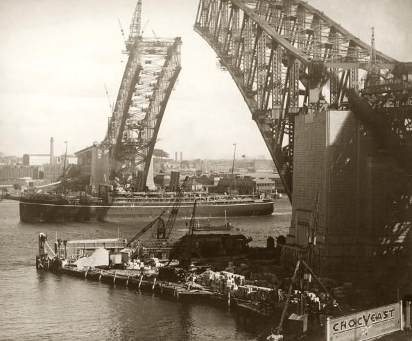 Construction Site「Sydney Harbour Bridge」:写真・画像(5)[壁紙.com]