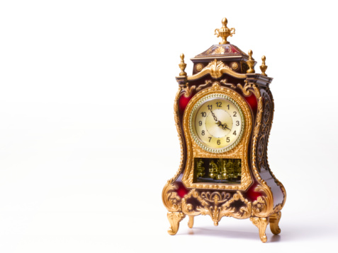Skill「Ornate clock with copy space」:スマホ壁紙(7)