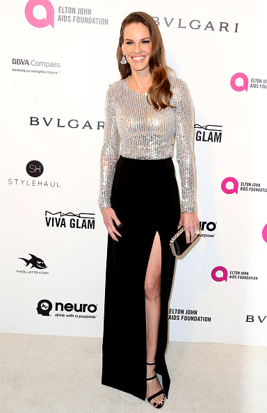Two-Toned Dress「24th Annual Elton John AIDS Foundation's Oscar Viewing Party - Arrivals」:写真・画像(6)[壁紙.com]