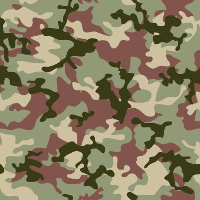 ミリタリー「camouflage jungle」:スマホ壁紙(18)