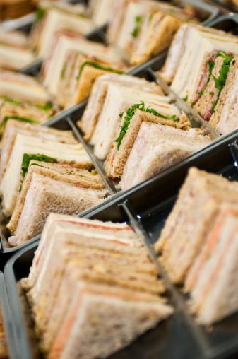 Sandwich「Stack of Sandwiches on a Tray」:スマホ壁紙(2)