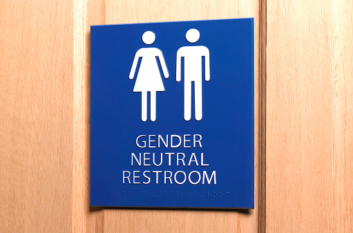 Toilet「All Gender Bathroom Sign」:スマホ壁紙(6)