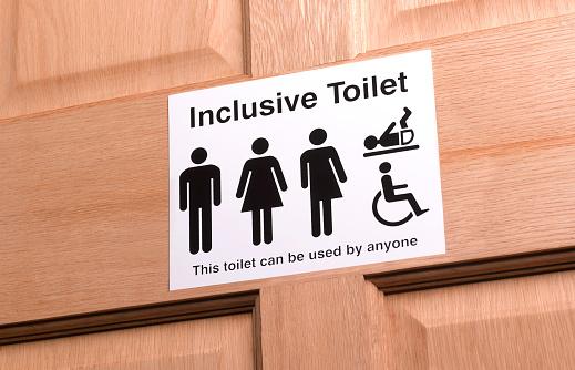 Gender Symbol「All Gender Bathroom Sign」:スマホ壁紙(14)