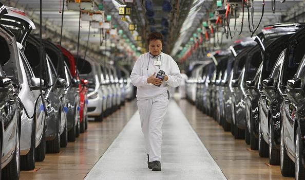 Wolfsburg - Lower Saxony「Volkswagen Production Line」:写真・画像(0)[壁紙.com]