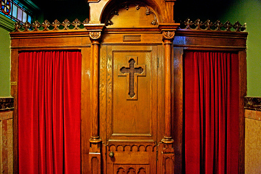 Unrecognizable Person「Confessional Booth」:スマホ壁紙(8)
