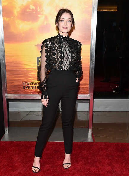 "High Waist Pants「Premiere Of AMC's ""Fear The Walking Dead"" Season 2 - Arrivals」:写真・画像(17)[壁紙.com]"