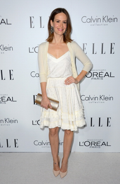 Cream Colored「19th Annual ELLE Women In Hollywood Celebration - Arrivals」:写真・画像(6)[壁紙.com]