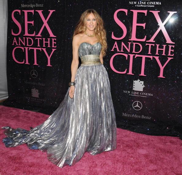"Sarah Jessica Parker「New Line Cinema Premieres ""Sex And The City"" - Outside Arrivals」:写真・画像(3)[壁紙.com]"