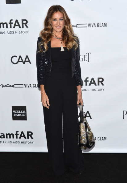Sequin Jacket「amfAR Inspiration Gala Los Angeles - Arrivals」:写真・画像(12)[壁紙.com]