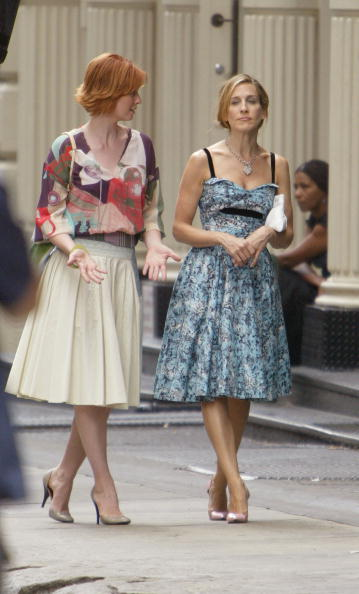 Sex and the City - Television Show「Sarah Jessica Parker and Cynthia Nixon」:写真・画像(19)[壁紙.com]